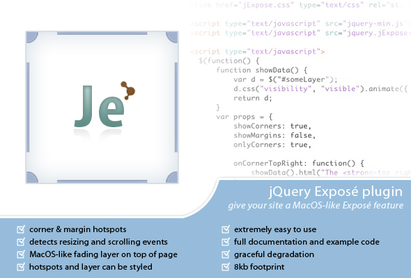 jExpose - CodeCanyon Item for Sale