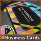 Colorful Mosaics Abstract Business Cards Designs - GraphicRiver Item for Sale