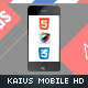 Kaius Mobile Retina | HTML5 & CSS3 And iWebApp - ThemeForest Item for Sale
