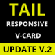 Tail Fullscreen V-card - ThemeForest Item for Sale