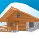Mountain wood hut - GraphicRiver Item for Sale