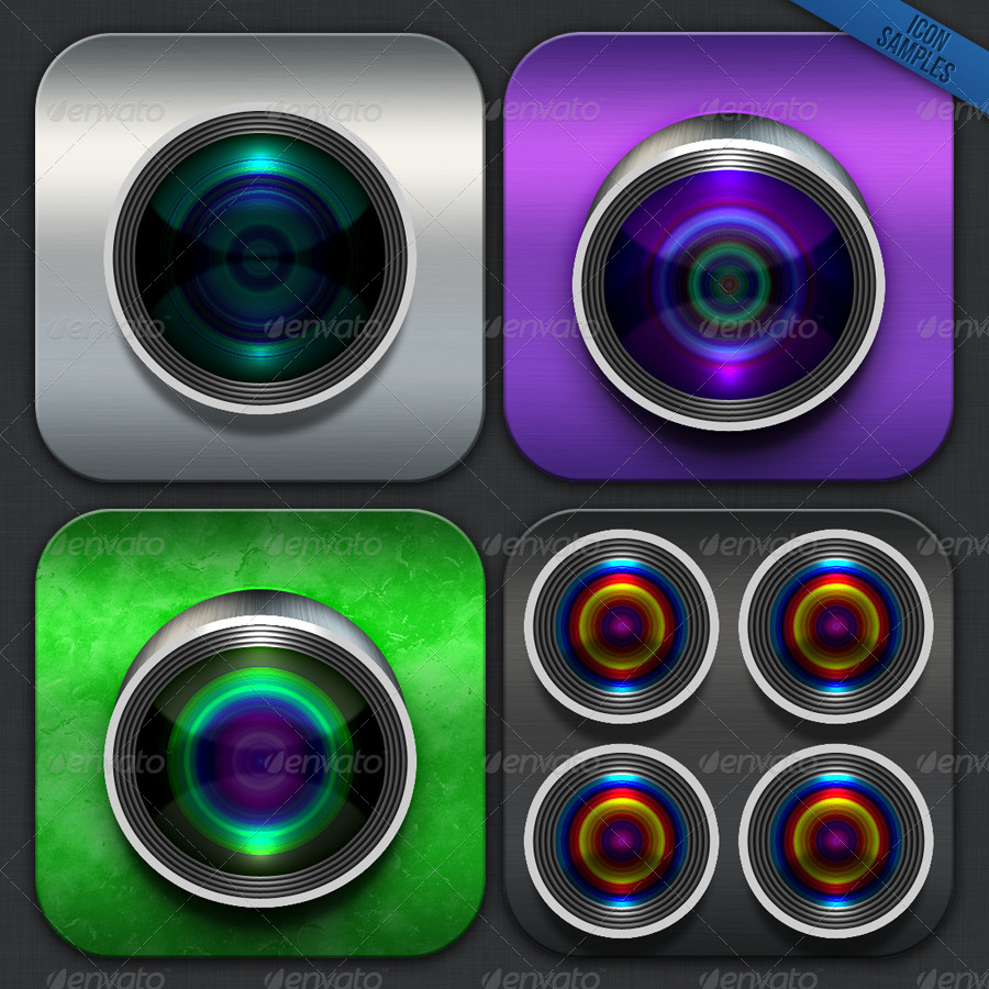 Professional Tool: iOS Camera Icon Maker