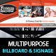 Multi-Product-Ad-Sinage-Billboard PSD Template - GraphicRiver Item for Sale