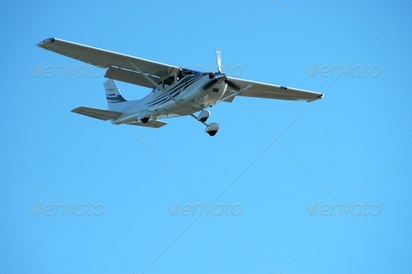 Light plane - Stock Photo - Images