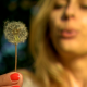 Girl Blows Dandelion Slow Motion - VideoHive Item for Sale