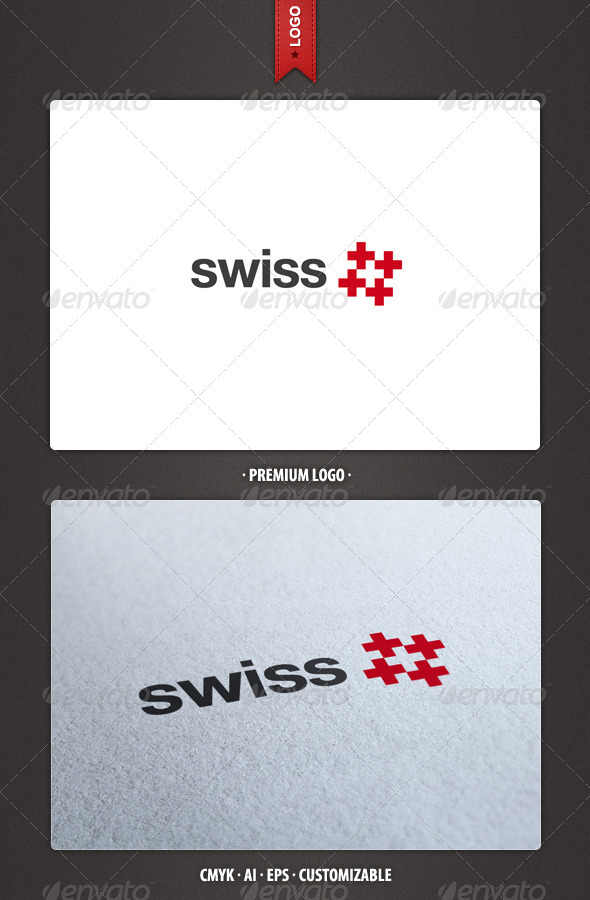 Swiss Logo Template - Symbols Logo Templates
