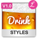 Beer / Drink Styles - GraphicRiver Item for Sale