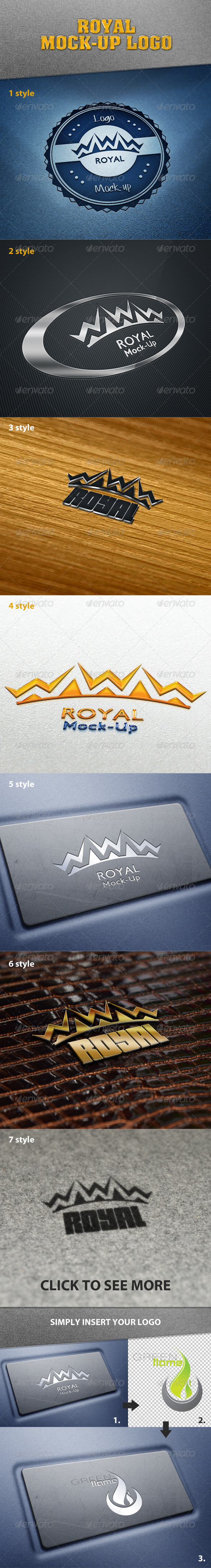 Royal Mock-Up Logo - Logo Product Mock-Ups