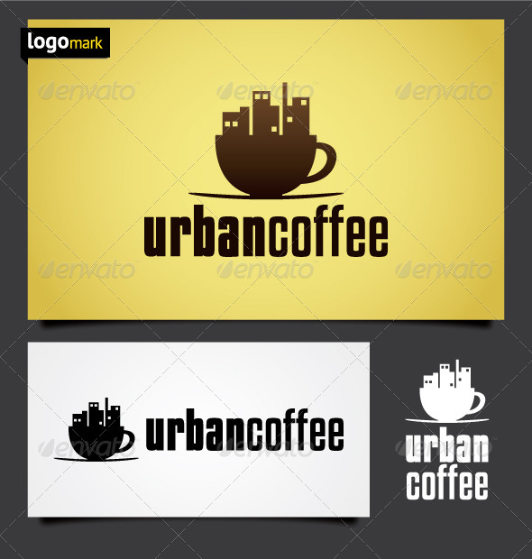 Urban Coffee Logo - Objects Logo Templates