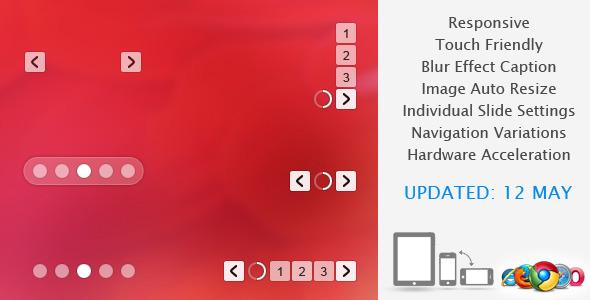 CodeCanyon Translucent Responsive Banner Rotator Slider 801607