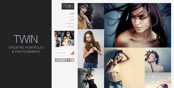ThemeForest Twin Creative Portfolio and Photography 2355772