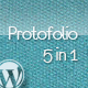 Protofolio Business &amp;amp; Portfolio Wordpress - 5 in 1 - ThemeForest Item for Sale