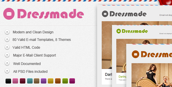 Dressmade E-mail Template