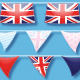 Union Jack Bunting Brushes and Ready-Made Objects - GraphicRiver Item for Sale
