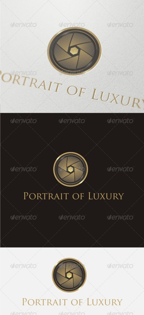 Portrait of Luxury Logo - Objects Logo Templates