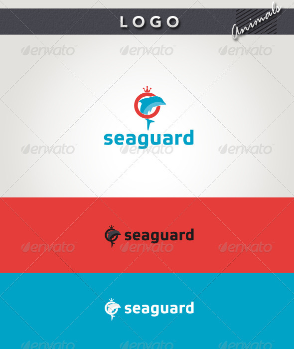 Seaguard Logo - Animals Logo Templates