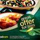 Retro Restaurant Food Flyers - GraphicRiver Item for Sale