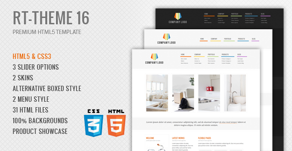 RT-Theme 16 Premium HTML5 Template