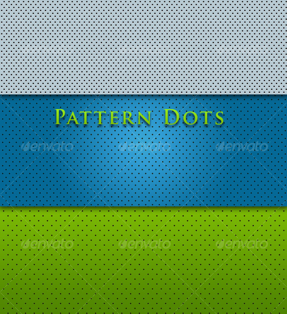 GraphicRiver Plastic Dots 87627