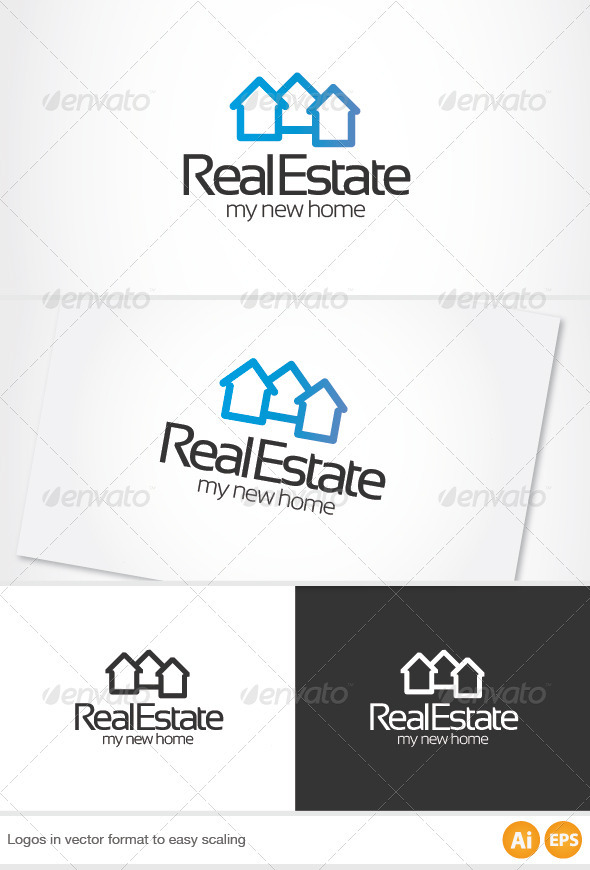 GraphicRiver Real Estate Logo 2372441
