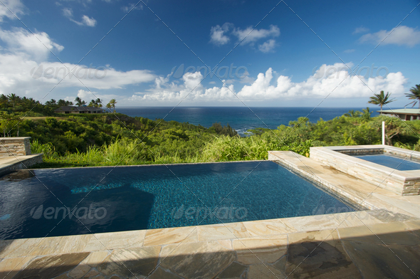 Stock Photo - PhotoDune Oceanview Pool 268003