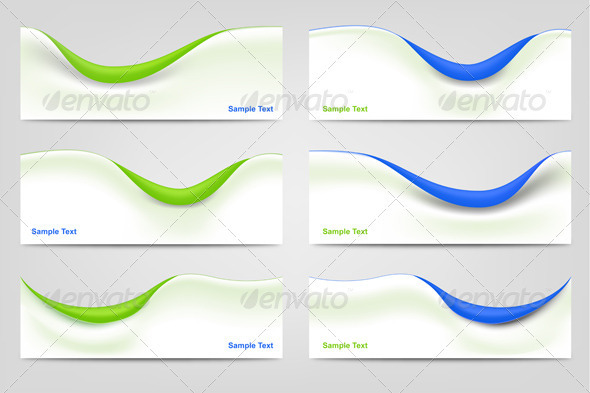 Wavy Business Templates - Backgrounds Business