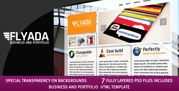 FLYADA - Business and Portfolio HTML Template - 1_flyada