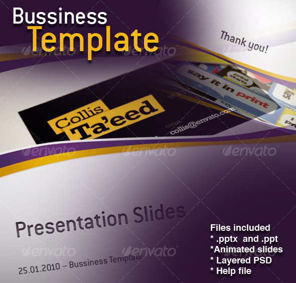 Bussiness Template - Business Powerpoint Templates