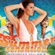 Summer Sensation Party Flyer Template - GraphicRiver Item for Sale