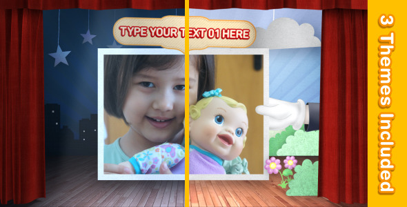 After Effects Project - VideoHive Theater For Kids 2376680