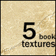 5 Old Book Textures - GraphicRiver Item for Sale