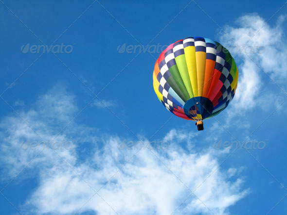PhotoDune Hot Air Balloon 146579