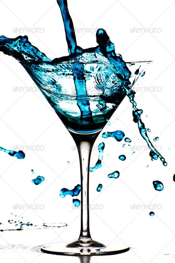PhotoDune Blue Cocktail 146644