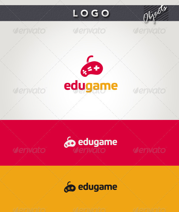 Edu Game Logo - Objects Logo Templates