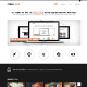 PeachFolio - Premium XHTML/CSS Portfolio Template - ThemeForest Item for Sale