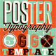Typography Gig Poster/Flyer 3 - GraphicRiver Item for Sale