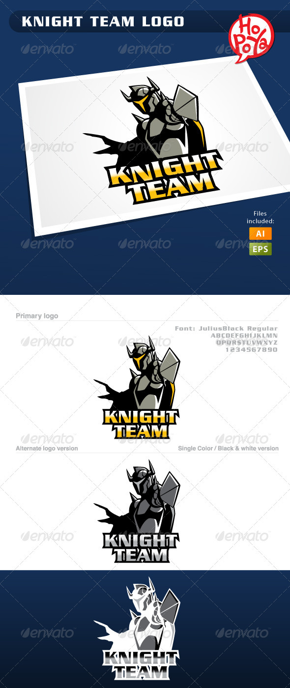 Knight Team Logo - Humans Logo Templates