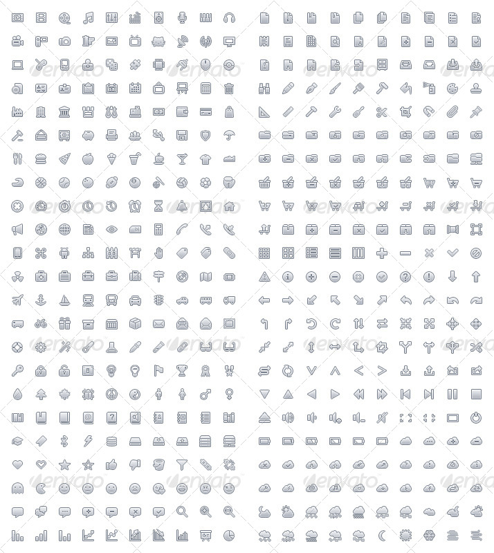 460 Vector Icons
