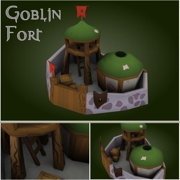 3DOcean Goblin Fort RTS 2380202