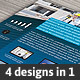 4in1 Multibusiness Flyer - GraphicRiver Item for Sale