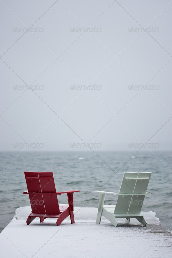 Thinking Chairs - Stock Photo - Images