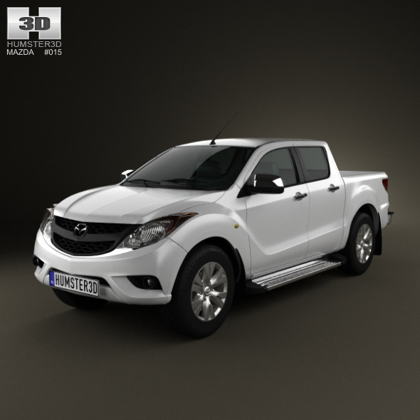 3DOcean Mazda BT-50 DualCab 2012 2382067