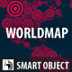 Smart World Map - GraphicRiver Item for Sale