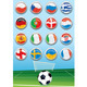 Euro 2012 Group Flags - GraphicRiver Item for Sale