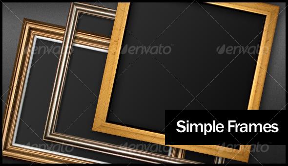 GraphicRiver Simple Frames 87949