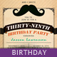 Birthday Greeting Card - Funny Mustache - GraphicRiver Item for Sale