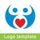Love Connect Logo Template - GraphicRiver Item for Sale