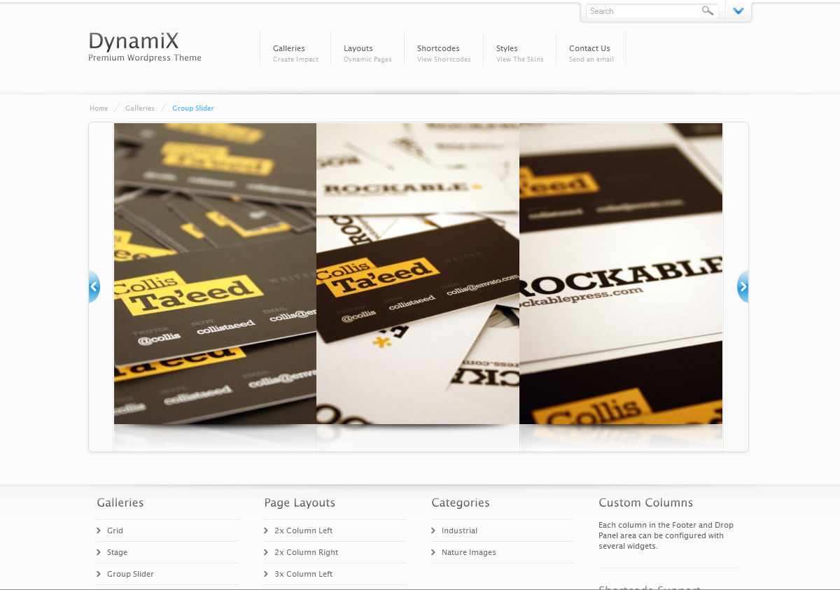 DynamiX - Premium Wordpress Theme