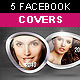 5 Facebook Timeline Covers - 3D Rings - GraphicRiver Item for Sale