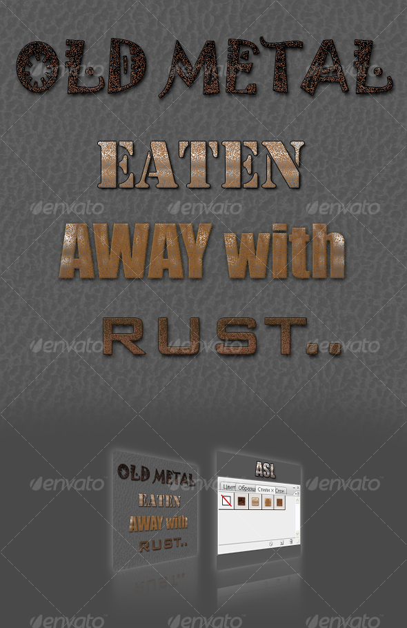 GraphicRiver Rust styles 88142